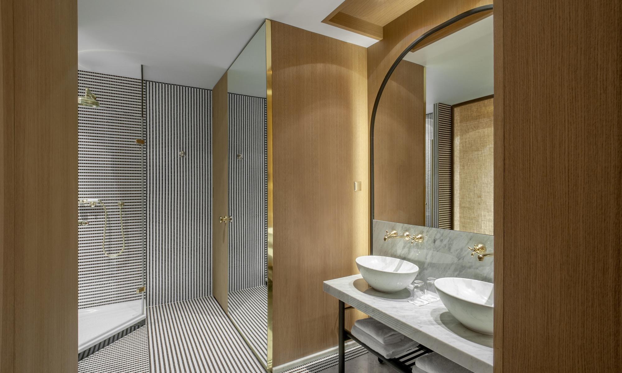Salle de bain Hôtel Vernet - ATES France
