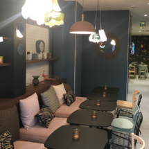 Rénovation restaurant Ibis Styles-gare de l'Est